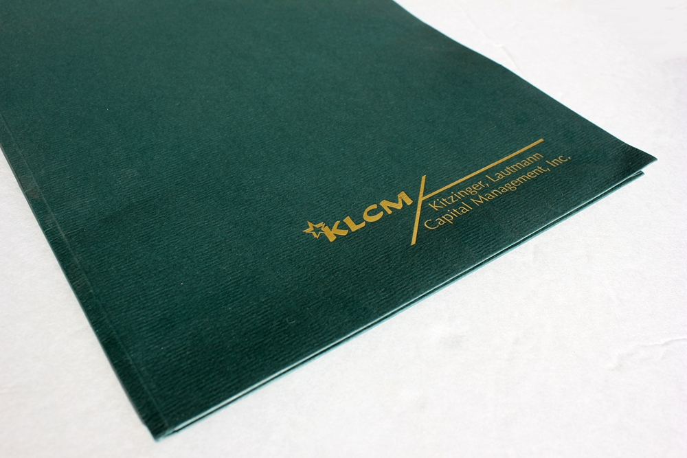 Custom Tax Folders personalized with logos and more, with any design, ink or foil color - ZBP Forms
